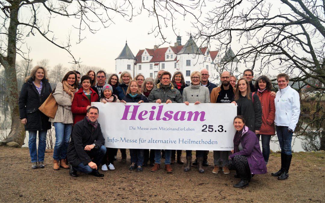Lerne mich kennen auf der Heilsam-Messe in Glücksburg