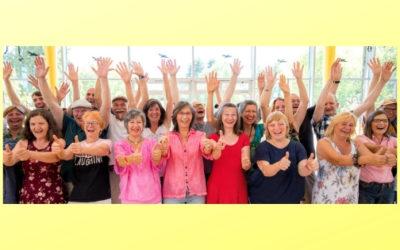 Lebensfreude lernen: Ausbildung zum / zur Lachyogaleiter*in