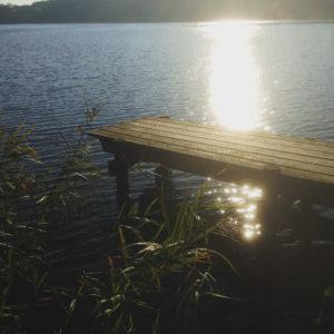 Wege zum Glücklichsein Lachspaziergang