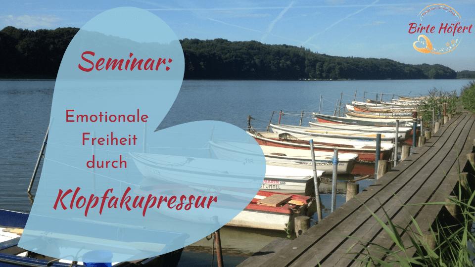 Seminar: EFT-basierte Klopfakupressur lernen für Selbstanwender*innen